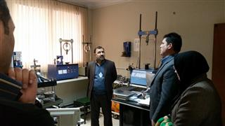 Visiting of the General Director of Khorasan Razavi Standard Organization from Toossab's Geotechnical Laboratory